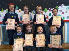 December Pupils of the Month